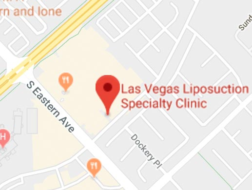 Las Vegas Liposuction Specialty Clinic Map